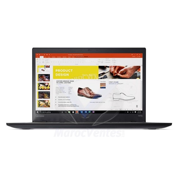 PC Portable ThinkPad T470s i7-7500U 14 8GB 20HF0059FE