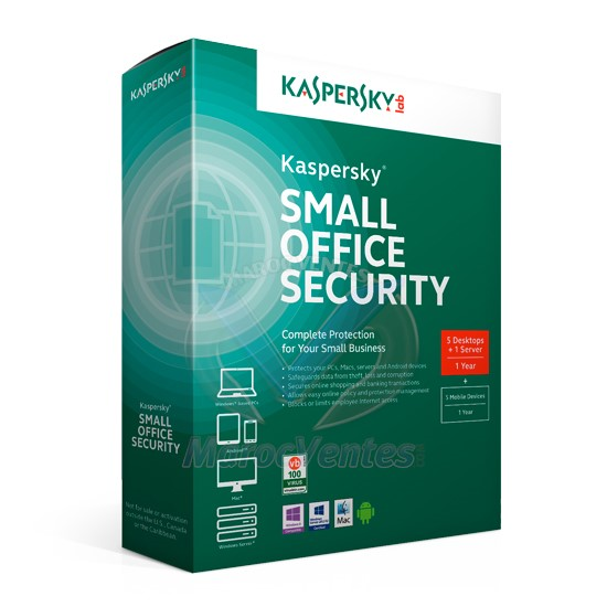 KASPERSKY Small Office Security (5 Postes + 1 Serveur) / 1an KL4531FBEFS-MAG