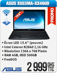 Asus Ordinateur Portable Intel Celeron N2840 2,16 GHz