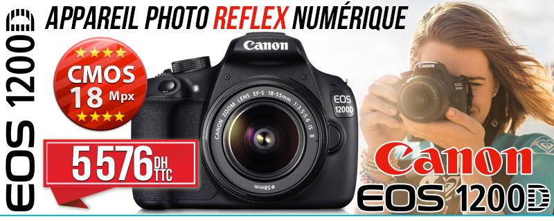 Appareil Photo Numérique Reflex Canon EOS 1200D