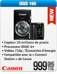Appareil Photo Canon IXUS 160