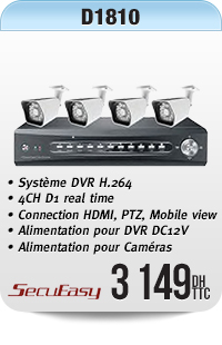 4CH D1 real time DVR H.264 compression with VGA connection HDMI