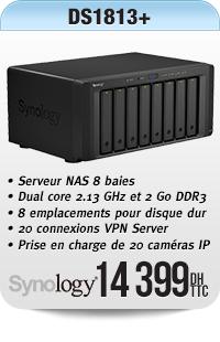Barebone Serveur NAS 8 baies
