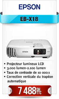 Projecteur 3000 lumens, USB, HDMI, mode écologique