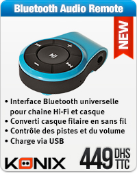 Konix Bluetooth Audio Remote