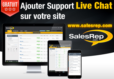 SalesRep Live Chat