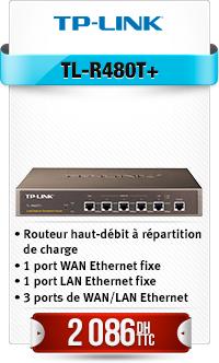 Routeur 10/100 1 Port LAN + 1 Port WAN + 3 Ports de Basculement WAN/LAN