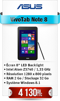 """ASUS M80TA-DL001H 8"""", Bay-T Z3740, 32G EMMC, win8.1, touch"""