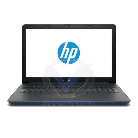 PC Portable HP 15-DA0005NK i3 7è Gén 4Go 1To Bleu 4BY23EA