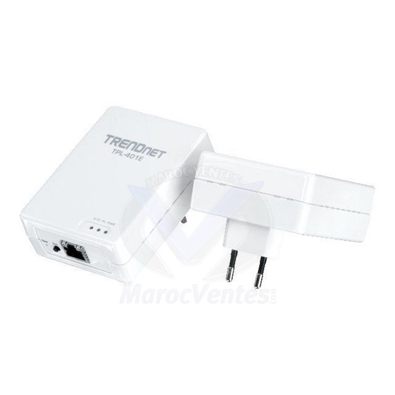 Kit d'adaptateur Powerline AV 500Mbps TPL-401E2K